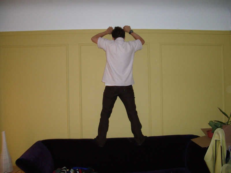 stress e testa al muro